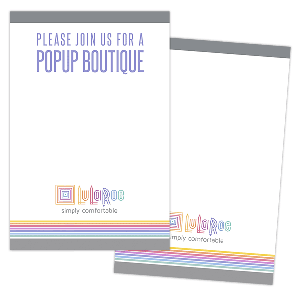 free lularoe printable, free lularoe note card, free lularoe invitation design