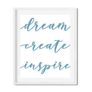 free printable motivational office wall art decor