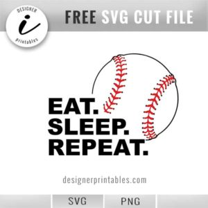 free svg cut file, free baseball vector file, baseball shirt ideas, baseball shirt inspiration, free printable, baseball graphic, baseball clipart