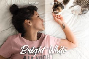 lightroom mobile preset, bright white filter, filter for photos, blogger filter, Lightroom preset