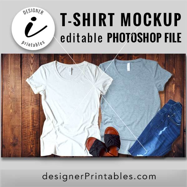 t-shirt mockup, bella canvas mockup, editable photoshop file, shirt mockup, wooden background