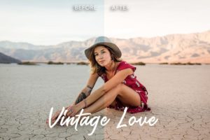 lightroom mobile preset, vintage love, filter for photos, blogger filter, Lightroom preset