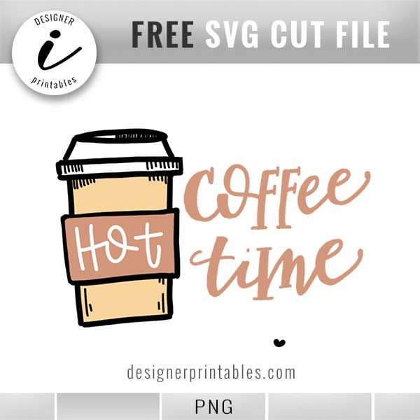 free coffee quote, coffee time quote, hot coffee cup, coffee cup doodle, bujo doodle, bujo coffee time doodle