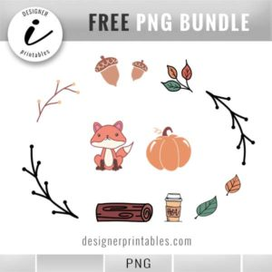 free digital stickers, free fall stickers, free autumn stickers, free fall clipart, free fall printables