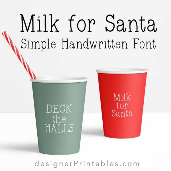 free christmas font, free font, handwritten font for commercial use, free simple handwritten font, handwritten fonts, holiday font, popular fonts