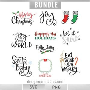 christmas bundle svg, holiday svg bundle, winter svg bundle, svg bundle, christmas svg, popular christmas bundle svg