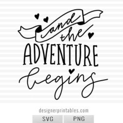 wedding photo overlay, wedding photography, handlettered photo overlay, svg png wedding, wedding svg, bride, and so the adventure begins, wedding quote