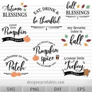 fall svg bunde, thanksgiving svg bundle, pumpkin svg, fall svg cut files