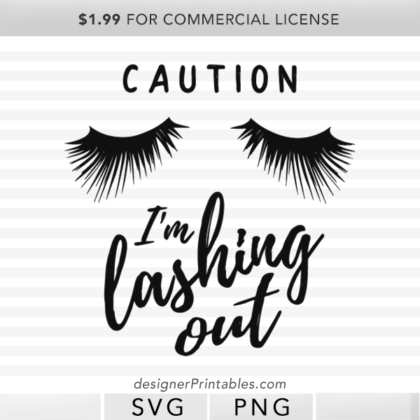 caution lashing out svgs cut file, eye lashes quote cut file, Rodan fields swag, younique swag, rodan fields lash boost shirts, younique lashes shirt, lashes clipart