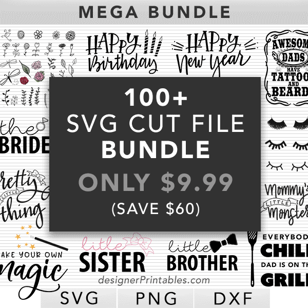 svg cut files, svg cut file bundle, svg bundle, svg mega bundle, cut file bundle, cricut cut files, silhouette cut files, clipart bundle
