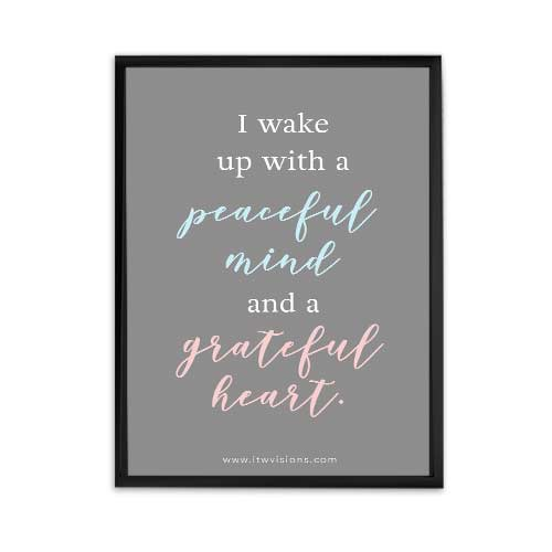 daily affirmation, motivational wall art, motivational quote free printable