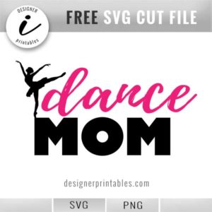 free svg dance mom, free printable dance mom clip art graphic
