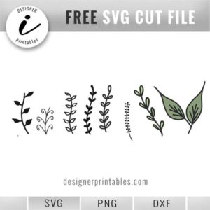 free botanical svg, free svg flower elements, free svg floral elements, flower svg, floral svg