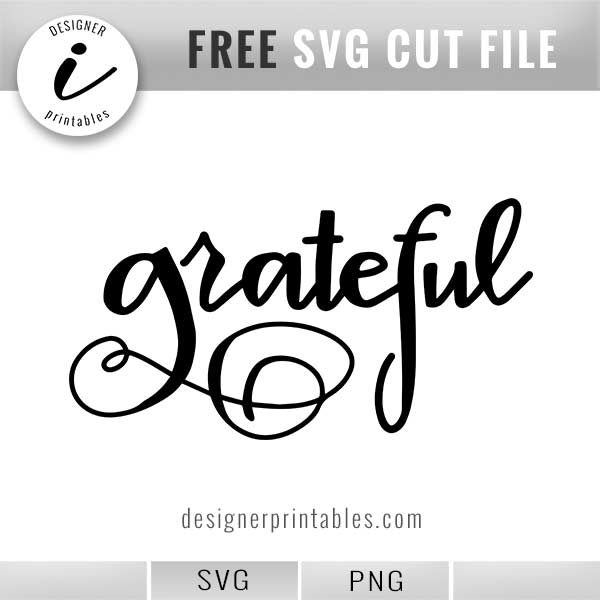 free svg, free handlettered svg grateful, free grateful svg, thanksgiving svg