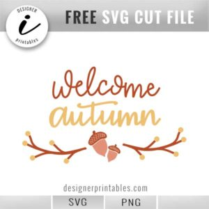 free fall svg, free autumn svg, hello fall svg, free png for fall, leaves svg, free svg cut file, cricut ideas