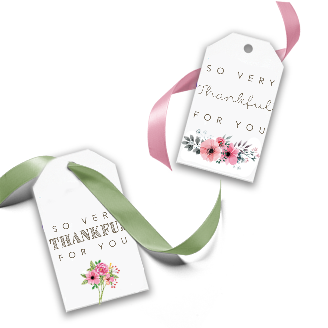 picture relating to Thank You Gift Tags Printable identify Absolutely free PNG + JPG: , Printable Reward Tag - Consequently Fairly Grateful for By yourself