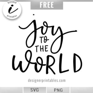 popular christmas svg, christmas clipart, joy to the world svg, christmas printable, holiday cricut cut file
