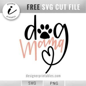 pet svg, dog svg, dog mama svg, dog printable, handlettered dog svg, handlettered dog mama svg, dog mama shirt, animal svg, pet cut file