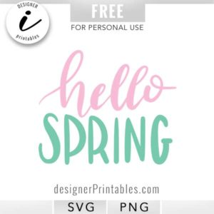 free svg, free svg cut file, free hello spring svg, svg spring, hello spring svg, free printable hello spring