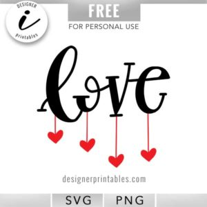love svg, valentine svg, heart svg, popular love svg, popular valentine svg, hanging hearts svg, love clipart, valentine clipart, valentine stickers, digital planner stickers, February planner stickers, bujo, bullet journal idea