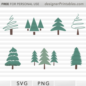 free christmas tree svg, free pine tree vector, free Christmas printable, free holiday svg cut file, popular holiday cricut cut design, free christmas silhouette studio